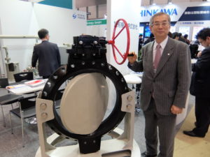 Asahi Yukizai Rolls out Large-Diameter Plastic Butterfly Valves for Thermal Power Stations